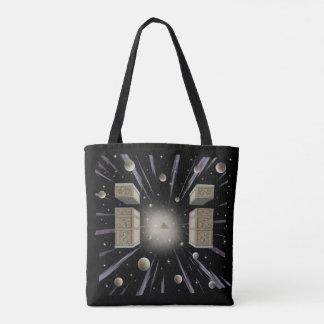 Cosmic,New Age, spiritual tot Bag. Tote Bag
