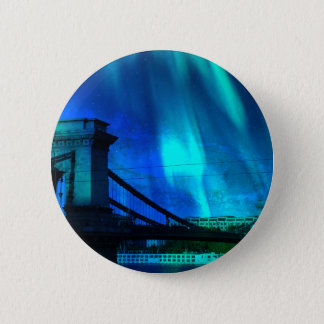 Cosmic Night in Budapest 2 Inch Round Button