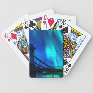 Cosmic Night in Budapest Bicycle Playing Cards