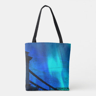 Cosmic Night in Budapest Tote Bag