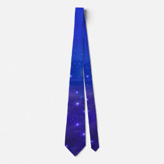 Cosmic Peace (blue) Tie