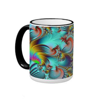 Cosmic Phunk Ringer Coffee Mug