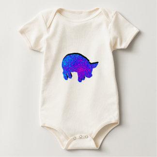 Cosmic Piglet Baby Bodysuit