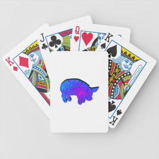 Cosmic Piglet Bicycle Playing Cards
