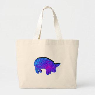 Cosmic Piglet Large Tote Bag