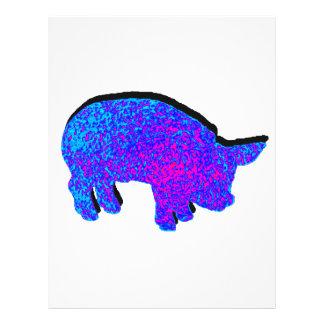 Cosmic Piglet Letterhead
