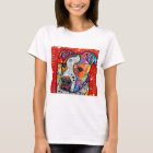 Cosmic Pit Bull - Bright Colourful - Gift Idea T-Shirt