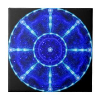 Cosmic Pool Mandala Ceramic Tiles