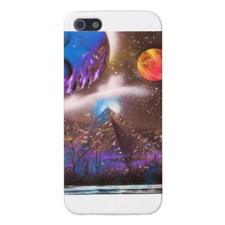 Cosmic pyramid iPhone case iPhone 5/5S Case