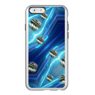 Cosmic Rain Floating Metal Drops iPhone Case