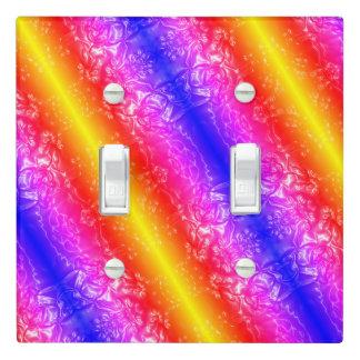 Cosmic Rainbow Light Switch Cover