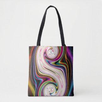 Cosmic Rays 3 Swirls Tote Bag