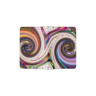 Cosmic Rays 5 Swirls Passport Holder