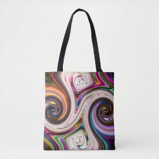 Cosmic Rays 5 Swirls Tote Bag