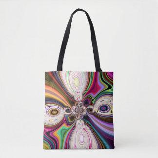 Cosmic Rays Polar Tote Bag
