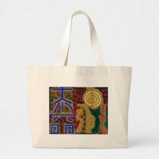 Cosmic Reiki Master Healing Art Symbols - TEMPLATE Tote Bag