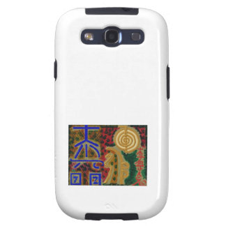 Cosmic Reiki Master Healing Art Symbols - TEMPLATE Samsung Galaxy SIII Cases