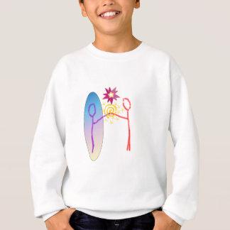 Cosmic Reunion: Fear_Feels_Love Sweatshirt