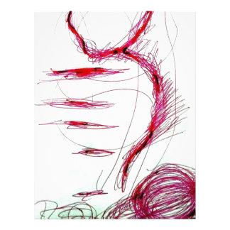 Cosmic Serpent Dance Letterhead