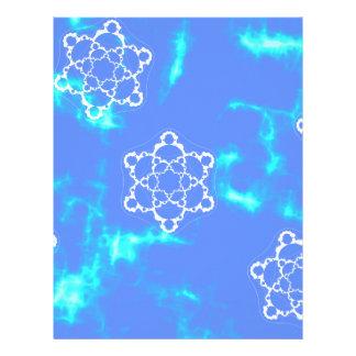 Cosmic Snowflake Custom Letterhead
