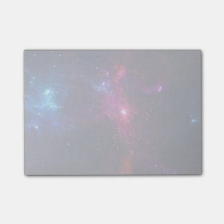 Cosmic Space Stars and Nebula Post-it Notes