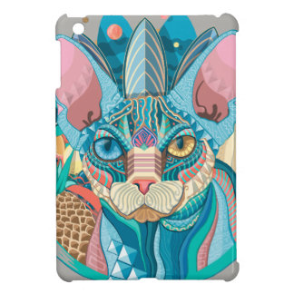 Cosmic Sphynx Cat Case For The iPad Mini