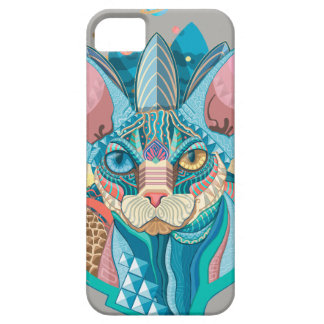 Cosmic Sphynx Cat Case For The iPhone 5