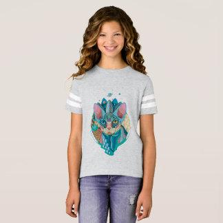 Cosmic Sphynx Cat T-Shirt