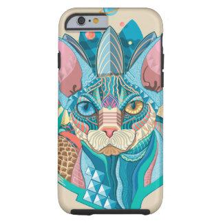 Cosmic Sphynx Cat Tough iPhone 6 Case
