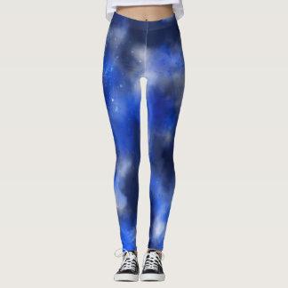 Cosmic Splatter Painting Leggings
