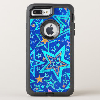 Cosmic Starry Pattern OtterBox Defender iPhone 8 Plus/7 Plus Case