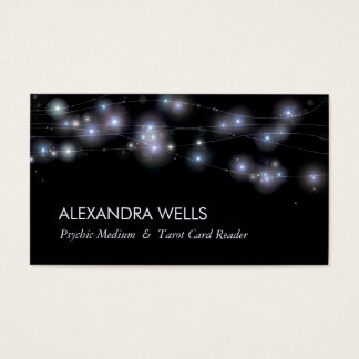 Cosmic Stars and Orbs Psychic Medium Business Card