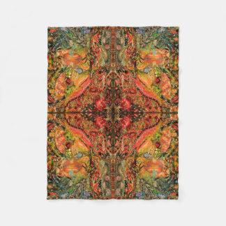 Cosmic Taste of Healing Fine Art Fleece Blanket