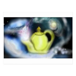 Cosmic Tea Pot Post Card