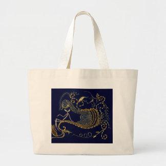 cosmic traveller large tote bag