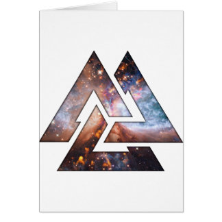 Cosmic Triangles Card