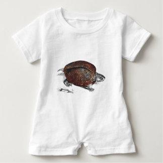 Cosmic turtle 1 baby romper