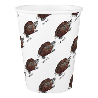 Cosmic turtle 1 paper cup