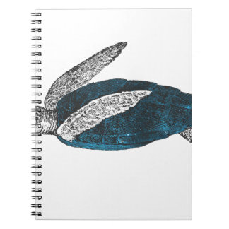 Cosmic turtle 2 spiral notebook