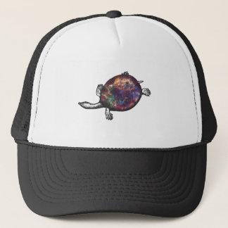 Cosmic turtle 3 trucker hat