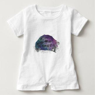 Cosmic turtle 4 baby romper