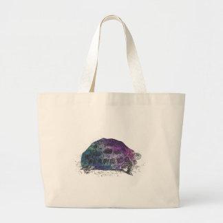 Cosmic turtle 4 large tote bag