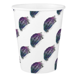 Cosmic turtle 4 paper cup