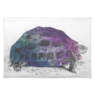 Cosmic turtle 4 placemat