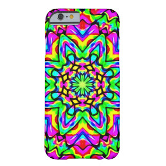 Cosmic Universal Flower Art Nouveau Barely There iPhone 6 Case