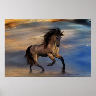 Cosmic .. wild stallion poster