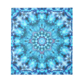 Cosmic Window Mandala Notepad