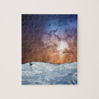 Cosmic Winter Landscape Jigsaw Puzzle
