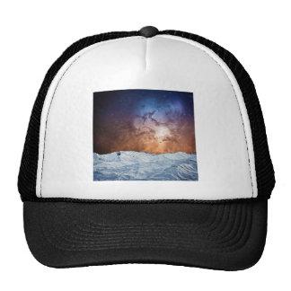 Cosmic Winter Landscape Trucker Hat