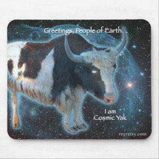 Cosmic Yak Mouse Pad